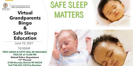 Virtual Grandparents Bingo & Safe Sleep Education tickets
