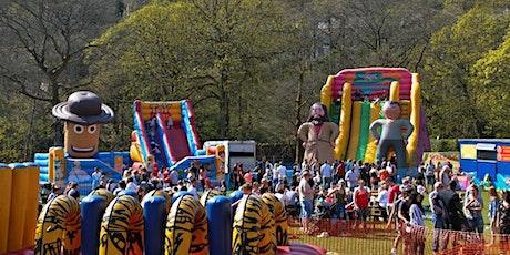 Kidz World Fun Weekend  26 and 27 June Victoria Park Warrington tickets