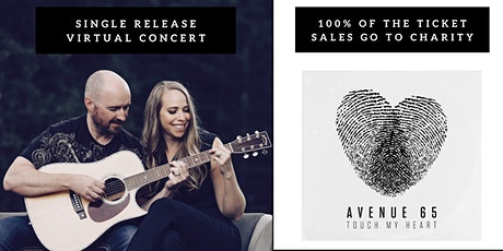 Touch My Heart Single Release Fundraiser tickets