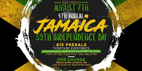 Jamaican  59th Independence Day tickets