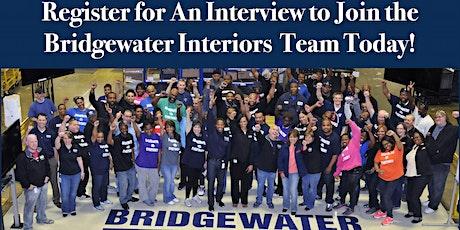 Bridgewater Interiors  –  Detroit Job Interviews - Summer 2021 tickets