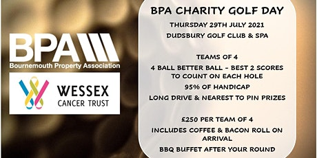 BPA CHARITY GOLF DAY tickets