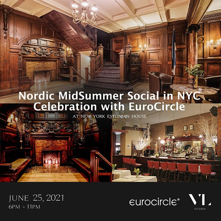 Nordic Midsummer Social in NYC  - Celebrate with EuroCircle image