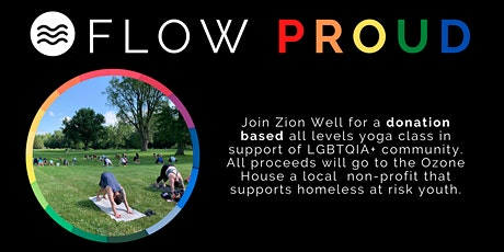 Flow Proud- Donation based Outdoor Yoga Class! #pride tickets