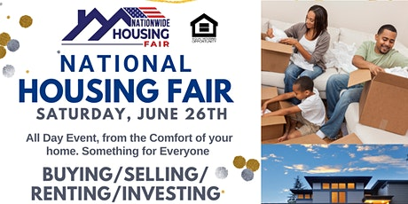 Nationwide Housing Fair June 26th Free Prizes tickets
