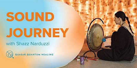 Restorative Sound Journey with Shazz Narduzzi tickets