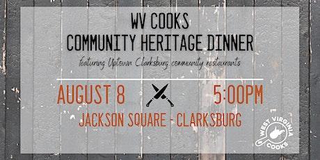WV Cooks Community Heritage Dinner Collaboration Clarksburg tickets