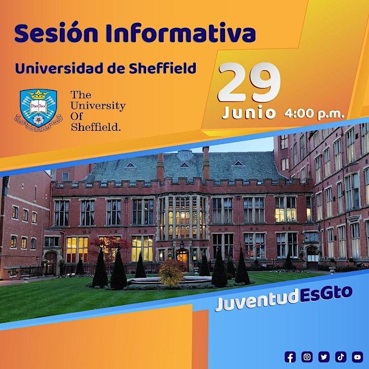 Imagen de Sesión  informativa  Universidad de Sheffield
