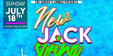 The Singer's Lounge Presents: New Jack Swing! tickets