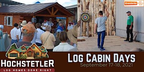 Log Cabin Days 2021 tickets