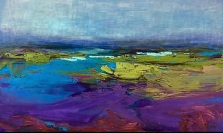 ABSTRACTING THE LANDSCAPE WITH CAROL FINKBEINER THOMAS - NEW DATE JULY 6TH image