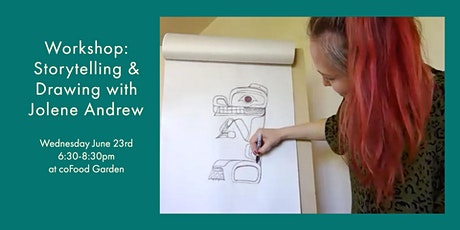 Workshop: Storytelling & Drawing with Jolene Andrew tickets