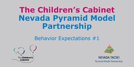 NV Pyramid Model: Behavior Expectations #1 tickets