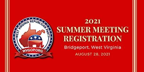 2021 West Virginia Republican Party Summer Meeting tickets