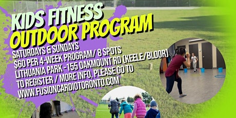 Outdoor Kid's Fitness Program (West Toronto)- 1-Time Introductory Pass tickets