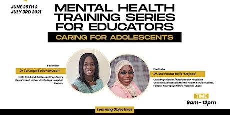 Mental Health Training Series For Educators tickets