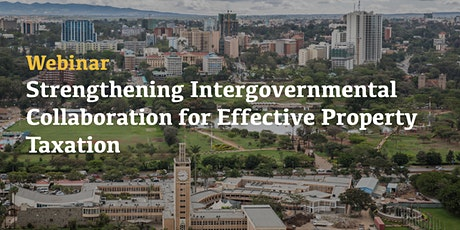 Strengthening intergovernmental cooperation for effective property taxation tickets