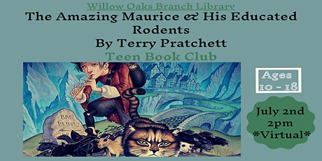 Teen Virtual Book club discussion - The Amazing Maurice & Educated Rodents tickets