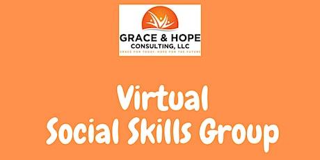 Virtual Social Skills Group tickets