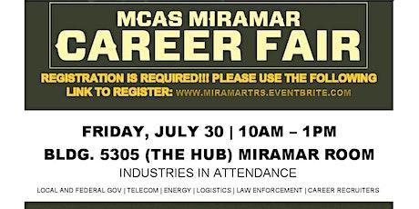MCAS Miramar Career Fair  ( In-Person) tickets