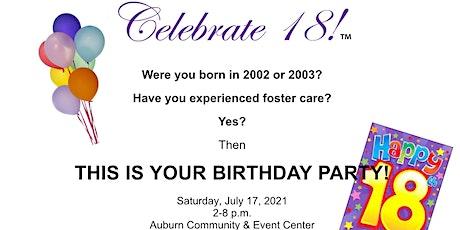 Celebrate 18! tickets