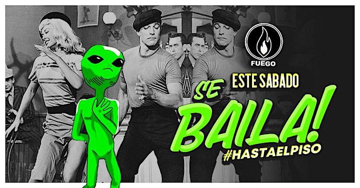 Este Sabado se Baila hasta el Piso @ Club Fuego - Free Guest List image