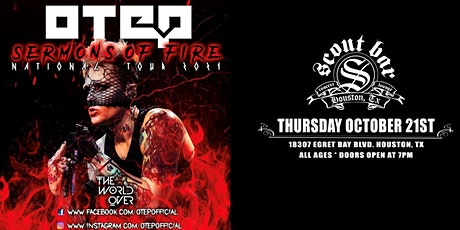 OTEP - Sermons Of Fire Tour 2021 tickets