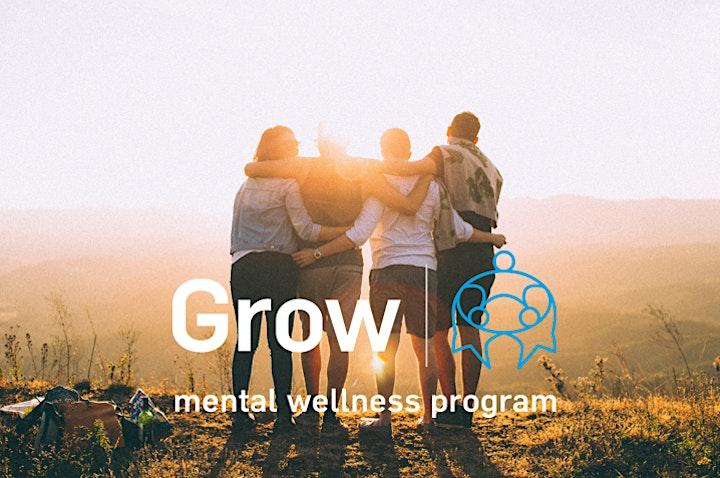 GROW  - MENTAL WELLBEING - BENDIGO - INFORMATION SESSION image
