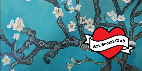 Van Gogh's Almond Blossom  Painting Workshop - no art experience needed tickets