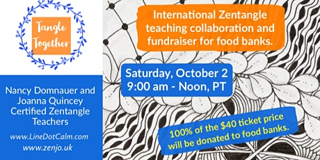 Tangle Together International Fundraiser for Food Banks Saturday, October 2 tickets