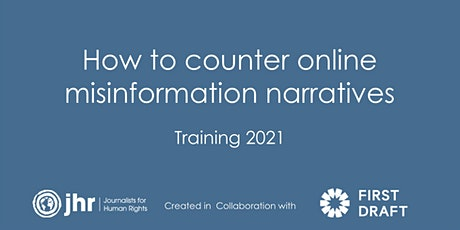 Reporting on mis – and disinformation: training for journalists tickets