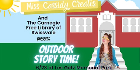Summer Storytime with Miss Cassidy and the Carnegie Library of Swissvale tickets