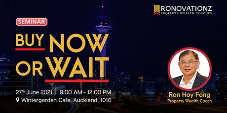 Ronovationz Breakfast: Buy Now or Wait tickets