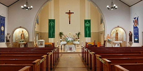 Registering for Mass at Our Lady of Good Health Parish tickets