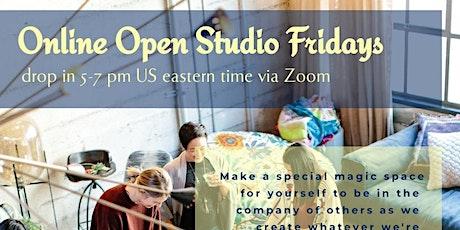 Open Studio Fridays (Online) biglietti