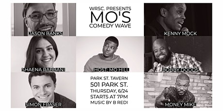 WRSC. Presents Mo's Comedy Wave tickets