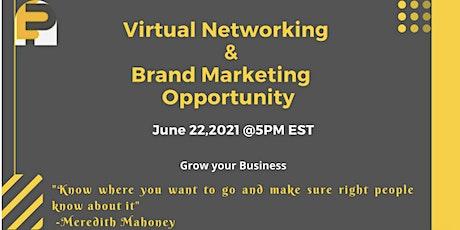 Networking & Brand Marketing- Virtual ingressos