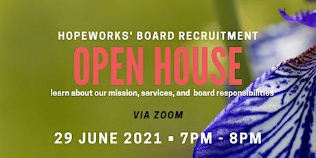 Board Recruitment Open House tickets