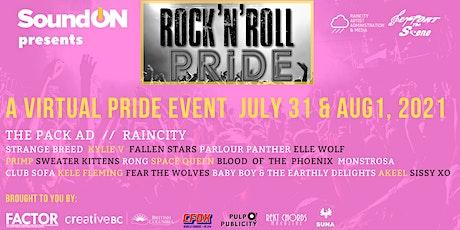 Rock 'n Roll Pride 2021 - Virtual Event tickets