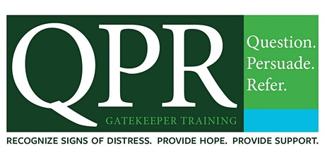 Question Persuade Refer Suicide Intervention Online Training 6/30/21 tickets