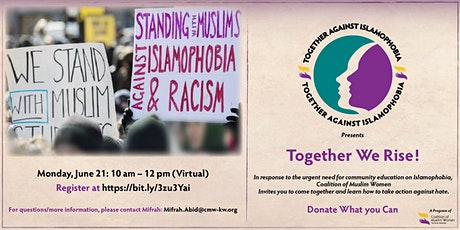Understanding and Confronting Islamophobia tickets
