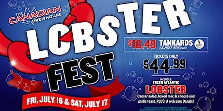Lobster Fest 2021 (Cochrane) - Saturday tickets