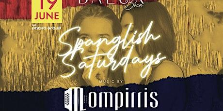 Los Mompirris Live Vallenato, Salsa, Merengue and Top40 @ Balux Boca tickets