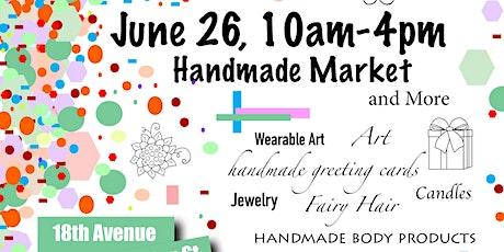 Handmade Market tickets