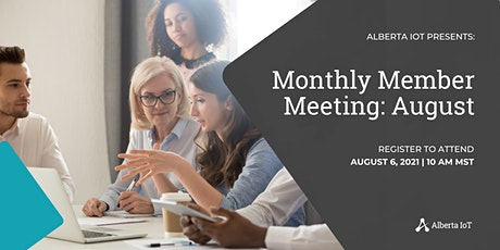 Monthly Member Meeting - August tickets