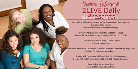 Refresh. Reignite. Rewrite. Women's Retreat tickets