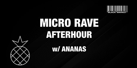 MICRO RAVE AFTERHOUR #13 w/ ANANAS Tickets