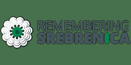 Remembering Srebrenica tickets