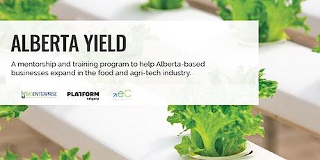 Alberta Yield: Ag Startup Panel tickets