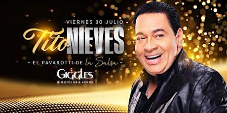 Tito Nieves en Los Angeles tickets